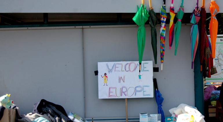 Nickelsdorf * Hilfe für Flüchtlinge * Eindrücke vor Ort
